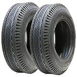 2 - 5.00-10 pneu à remorque 8 ply route rapide route légale...