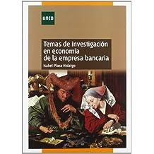 Temas de investigación en economía de la empresa bancaria (MÁSTER)