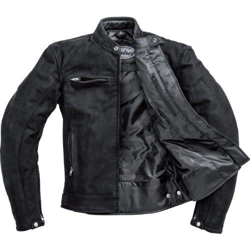 Motorradjacke Delroy Nubuk Lederjacke 1.0 schwarz S - 3
