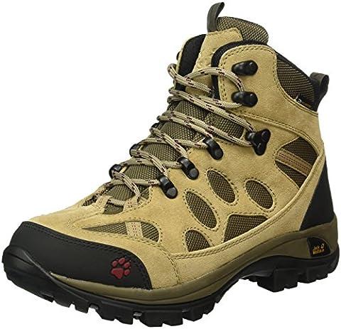 Jack Wolfskin Damen All Terrain 7 Texapore Mid W Trekking-& Wanderstiefel, Beige (Cabernet 2046), 40