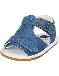 b32ed6c0 Fossen Verano Zapatos Bebe Niño con Suela Dura Caucho Sandalias de  Antideslizante Zapatillas