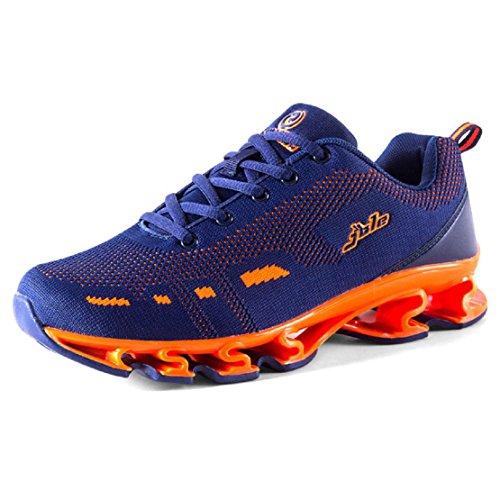 uomo L'autunno inverno Il nuovo Scarpe sportive All'aperto Scarpe da corsa formatori Aumenta le scarpe EUR FORMATO 39-44 blue