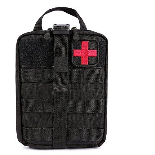 Mosie Medical Tasche–Tactical MOLLE ifak EMT Utility Tasche mit Erste Hilfe Patch und Neigen rip-away Medical Erste Hilfe Kit Utility Tasche 1000D Nylon (Erste-hilfe-kits Emt)