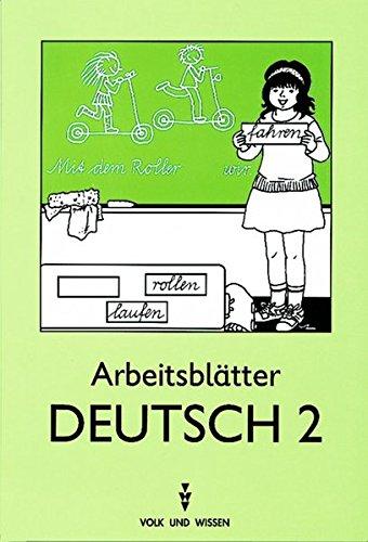 Buchcover: Arbeitsblätter Deutsch II.