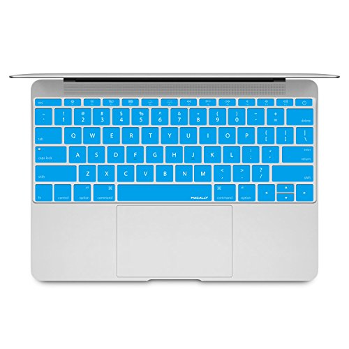 Macally Tastaturschutz für MacBook 2015 Edition hellblau (Decals Custom Made)