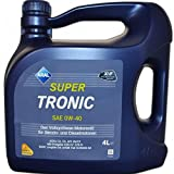 ARAL 20459 SuperTronics 0W-40 Motorenöl, 4 Liter