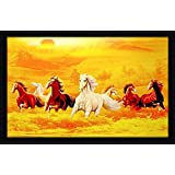 PAF Horse Framed Wall Art Paintings (12 Inch X 18 Inch,Wood 35 Cm X 2 Cm X 50 Cm)