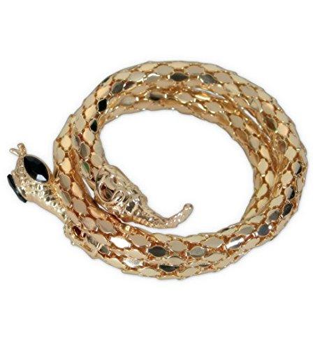 Schlangenarmreif Cleopatra Armreif Schlange Schmuck Ägypten -