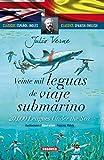 Veinte mil leguas de viaje submarino - español/inglés (Clásicos bilingües)