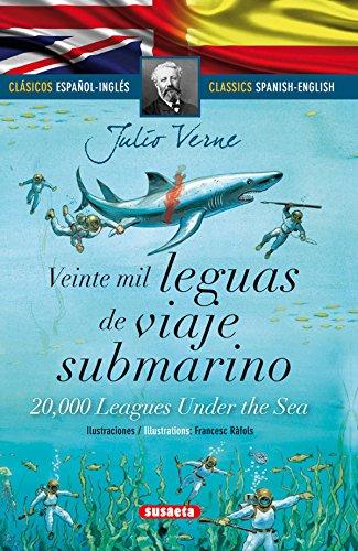 Veinte mil leguas viaje submarino - español/inglés