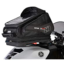 OXFORD Q30R OL270, 30 liter QR tank bag with quick release and luggage net