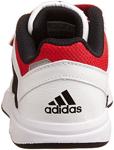 adidas Lk Trainer 6 Cf K, Baskets mode mixte enfant Blanc