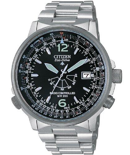 Citizen Pilot Funkuhr AS2020–53E Herren Armbanduhr