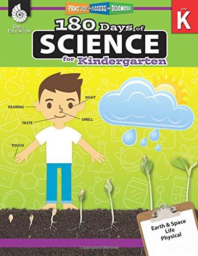 180 Days of Science for Kindergarten (Grade K): Practice, Assess, Diagnose (180 Days of Practice) por Lauren Homayoun
