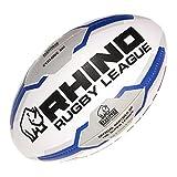 Rhino Cyclone XIII Ligue De Rugby Ballon D'entraînement - Blanc, 3