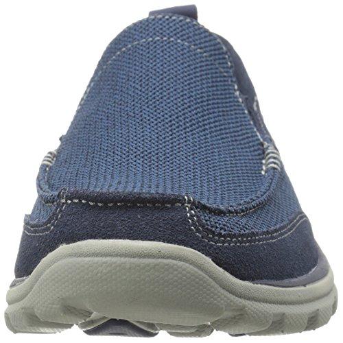 Skechers - SuperiorMilford, Sneaker basse Uomo Blu (Blu (Navy))