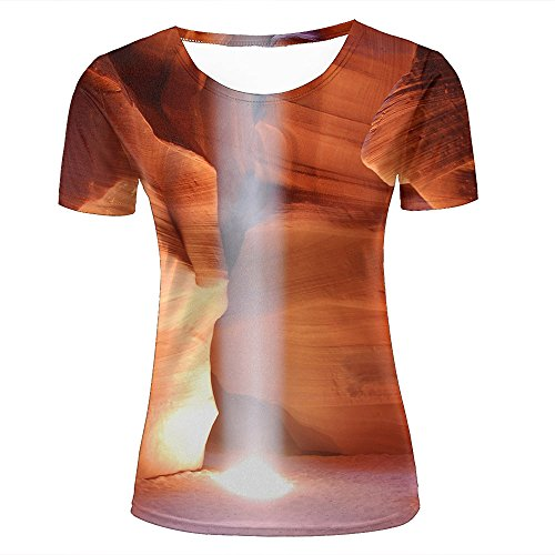qianyishop Homme 3D Print Caves-sunnyGraphic T Shirts Couple Tees D