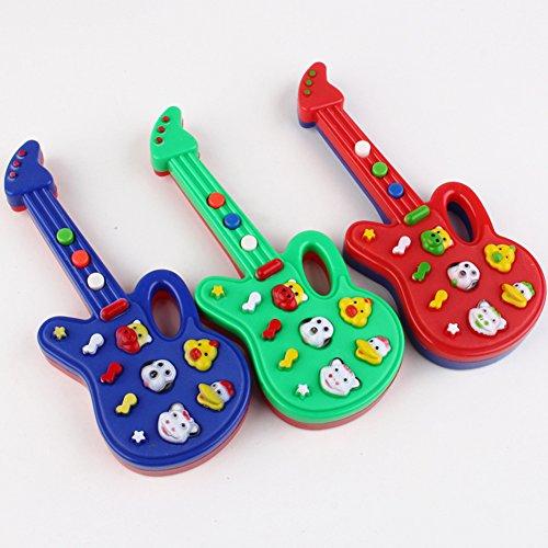 Zantec Kinder Elektronische Klavier Gitarre Spielzeug Niedlichen Cartoon Tiere Musik Spielzeug Intellektuelle Entwicklung Zufällige Farbe