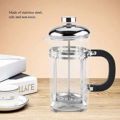 Zerodis-600-ML-800-ML-1000-ML-Kaffeebereiter-Caffettiera-Portable-Edelstahl-Kaffeepresse-Hersteller-Transparente-Borosilikatglas-Topf-mit-Griff-fr-Home-Office-Mit