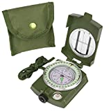 Best Hiking Compass - CASON (DEVICE OF C) High Accuracy Metal Waterproof Review
