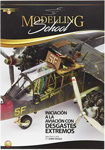 AMMO Munition mig-6031Escuela De modelismo: INICIACION A La Aviacion Con desgastes extremos Castellano, Mehrfarbig -
