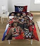 WWE Super 7Bettwäsche-Set, mehrfarbig, Single