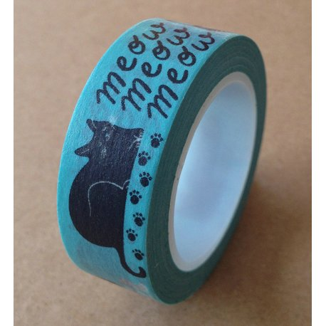 Love My Tapes Washi-Tape, 15 mm x 10 m, Meow