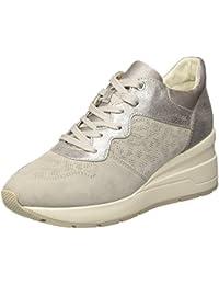 Scarpe Geox phyteam Donna Scarpe Scarpe Basse Sneaker Nero Nuovo