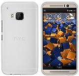 mumbi Schutzhülle HTC One (M9) Hülle transparent weiss