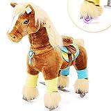 Ponycycle Spirit Premium Serie - Medium - Schaukelpferd - Kuscheltier auf Rollen - Inline - Kinder - Pony - Reiten (Medium)