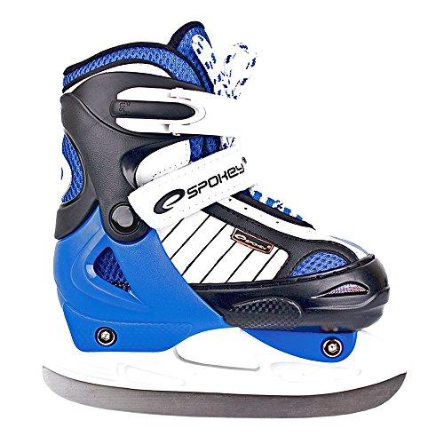 SPOKEY® PIROUETTE Inline Skates / Schlittschuhe mit austauschbarer Schiene | Kinder | Damen | Inline Blades | Rollen | Kufe | ABEC3 Karbon | Größen 30-41