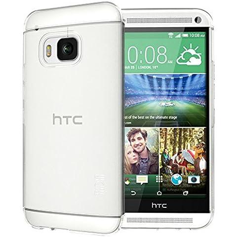 HTC One M9 Funda, TUDIA ultra delgado LITE TPU caso de parachoques de protección Funda Carcasas para HTC One M9 (Esmerilado