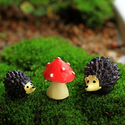 Ginsco 9pcs Miniature Ornament H...