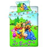 Winnie the Pooh baby cama 160x 200cm/70x 80cm en Multicolor