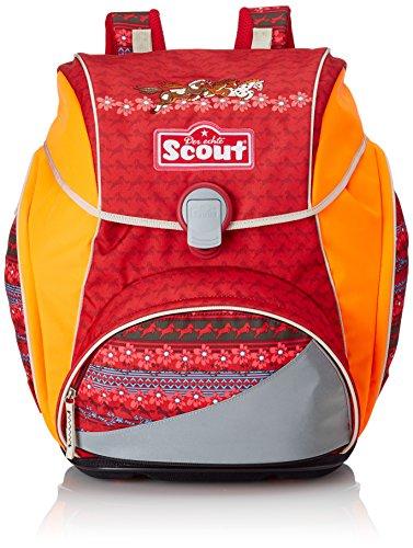 Scout Alpha Schulranzen, Rot/Weiß