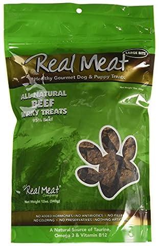 Canz Real Meat JERKY Healthy Cat & Dog Reward Treats BEEF 340 gram