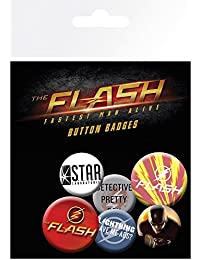 DC Comics Mix The Flash Badge Pack, Multi-Colour