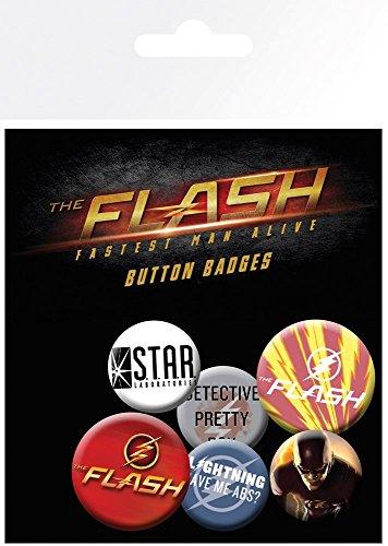DC-Comics-Mix-The-Flash-Badge-Pack-Multi-Colour