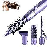 Une étape sèche-Cheveux et Styler Puissant 4 en 1 Hot air Brosse de coiffage, réglages de Chaleur Rapide 900 W Multi-Fonctionnel pour Straight & Curly Hairhot Comb