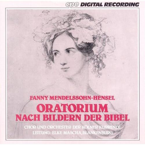 Oratorium nach den Bildern der Bibel (Oratorio based on stories from the Bible): Recitative (Soprano)