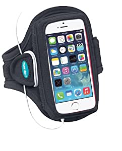 Sport Armband for iPhone 5 / 5s / 5c with slim cases, Motorola Droid Mini and more