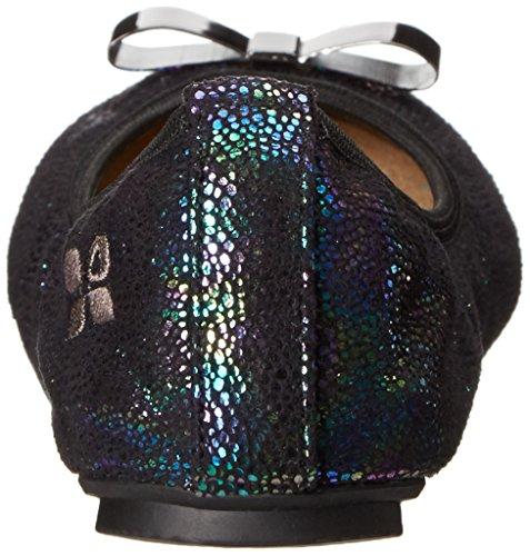 ButterflyTwists ballerina Chloé, colore: nero iridescente, pieghevole Nero (nero)