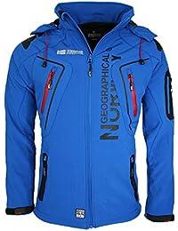 Geographical Norway Herren Softshell Funktions Outdoor Jacke wasserabweisend
