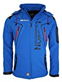 Geographical Norway Tambour - Chaqueta Softshell para Hombre, Hombre, Color Azul, tamaño Medium