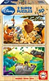 "KD Toys Educa Borras 13144 ""Animal Friends Puzzle (100-Piece)"