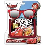 Kids Licensing–wd17037–Juego de Cartera y Gafas Gafas de Sol Rojo Cars