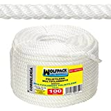 WOLFPACK 16010220 Cuerda Polipropileno Multifilamento (Rollo 100mt) 12mm.