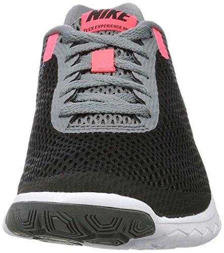Nike Damen Flex Experience Run 6 Laufschuhe Mehrfarbig (Black/hot Punch-cool Grey White)