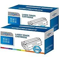 ECSC Compatible Toner Cartouche Remplacement Pour Brother DCP-1510 DCP-1512 DCP-1610W DCP-1612W HL-1110 HL-1112 HL-1210W HL-1212W MFC-1810 MFC-1910 MFC-1910W TN1050 (Noir, 2-Pack)