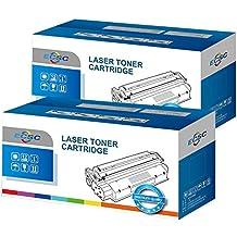 ECSC Compatible Virador Cartucho Reemplazo Por Brother DCP-1510 DCP-1512 DCP-1610W DCP-1612W HL-1110 HL-1112 HL-1210W HL-1212W MFC-1810 MFC-1910 MFC-1910W TN1050 (Negro, 2-Pack)